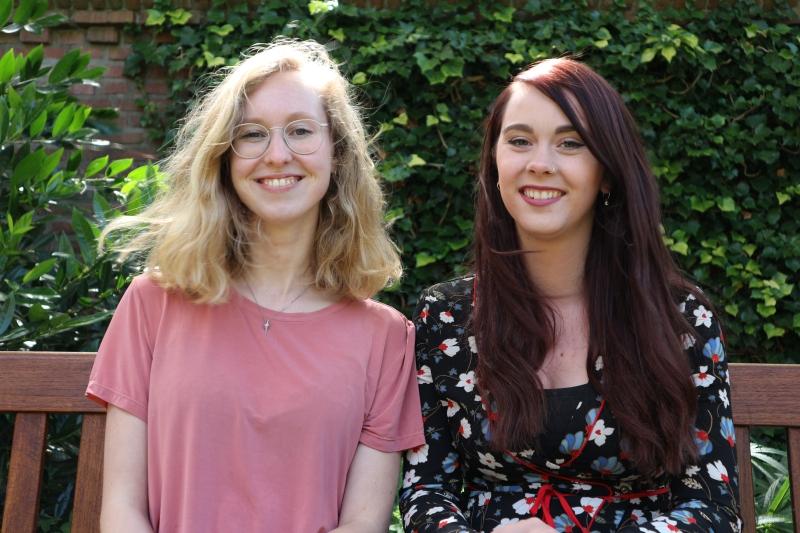 Karlijn en Ilona - onderzoekers EVI
